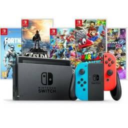 Nintendo Switch 32GB +20 Jogos * Desbloqueado