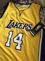 Camiseta (baby look) Lakers Nova