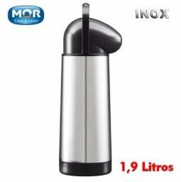 Garrafa Térmica Inox 1,9 Litros Mor Nobile