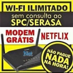 Internet wifi plus e tv acabo