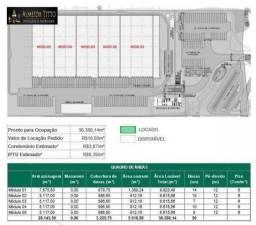 Excelente Galpão com 05 Módulos Para Locação em Ipojuca/PE, com Áreas de 6.615 m² e 9.923