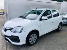 Toyota Etios X 1.3 Aut. Novo Apenas 38000km , Oportunidade !!!! 2020 Pago !!! - 2018