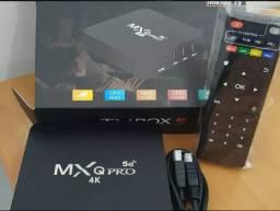 Tv box 4GB DE RAM 64 ARMAZENAMENTO WIFI 5G