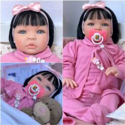 Bonecas Bebê Reborn Corpo de Pano