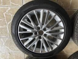 Rodas focus 2017 original com pneu novo