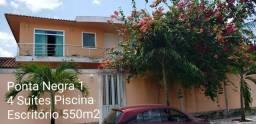 Ponta Negra I Ótima Duplex completa 450m2