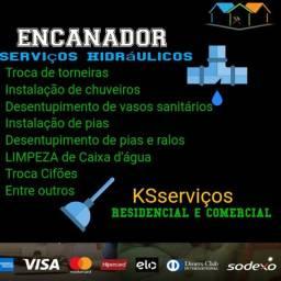 Serviços hidráulicos