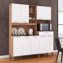 Armário Cozinha 9 Portas Merlot Móveis Ronipa