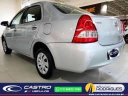 Etios Sedan XS 1.5 2016/2017 Novíssimo