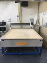 Máquina de corte CNC router - 1,50 x 2,00m área de corte
