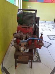 Lavadora de alta pressão motor com mangueira