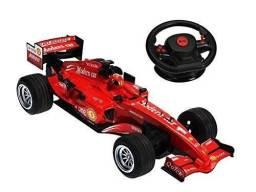Carrinho De Controle Remoto Fórmula 1 ? Racing Vermelho - Controle Gravidade