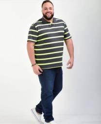 Camisa Polo (Plus Size)