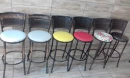 Banquetas Fibra Sacada Apartamento Lougue Bares Terraço Piscina Comercio