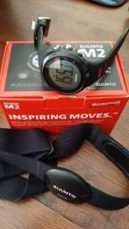 Relogio monitor cardíaco Suunto M2 em bom estado com nota fiscal, caixa e manuais