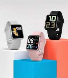 Smartwatch P68s à prova d?àgua pronta entrega 1 pulseira de silicone + pelicula