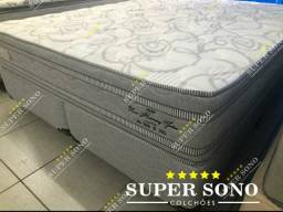 Conj Box New Harmony Pelmex Super King 193x203 Dublo Pillow
