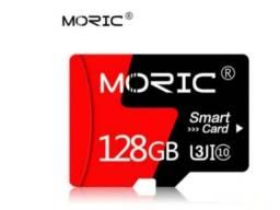 Vendo Cartão de Memória Micro SD - 128GB - Com Adaptador