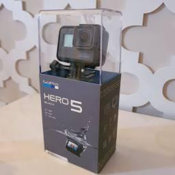 Câmera GoPro Hero 5 Black - 12MP - 4K - Bluetooth - Wi-Fi<br>