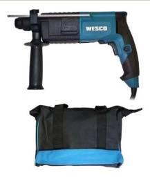 Martelete Rotativo Impacto 620w Wesco com bolsa