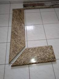 Pedras de granito cor Light Venezuano