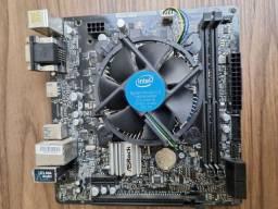 Processador Intel I3 8100 + Placa mãe Asrock H310M-HG4