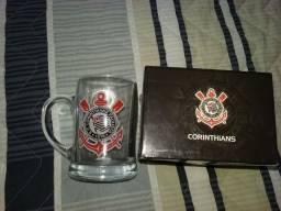 Título do anúncio: Caneca Chopp Corinthians Oficial + Chaveiro Brinde