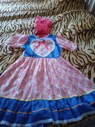 Vestido de  junina!!!!