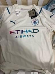 Título do anúncio: Camisa oficial Manchester city 2022 G