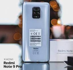 REDMI NOTE 9 PRO- 128G -4 RAM. 1820 NOS CARTAO EM ATÉ 10X
