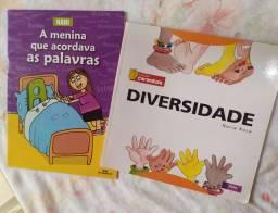 Livros Diversidade + A Menina que Acordava as Palavras