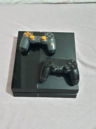 Título do anúncio: Playstation 4 Fat