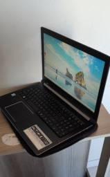notebook Acer i5 sétima geração 8gb 1tb somente venda
