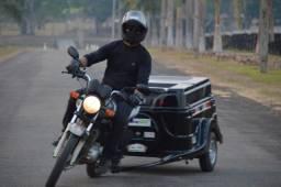 Carretinha Black Motoprático
