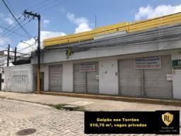 Título do anúncio: Alugo Galpão nos Torrões, 516,70  m²