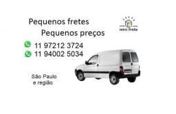Fretes pequenos São Paulo e região