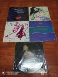 LPs SINGLE'S álbuns importados lote
