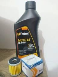 Óleo Petrol 20w50 Moto 4t Sg Mineral 1 Litro