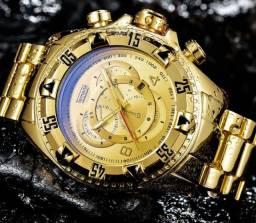 Relógio Temeite de luxo p/ homens exigentes muito bonito