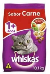 Título do anúncio: Ração de gato 1+anos ,sabor carne.