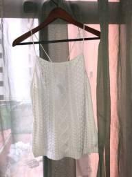 Blusa Ralph Lauren, Tamanho M e veste bem
