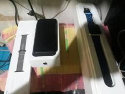IPhone7 32 GB na garantia com Apple watch