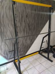Smith machine, barra guiada semi novo
