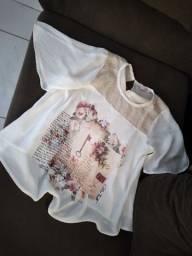 Linda blusa da China fulô G