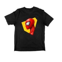 Título do anúncio: Camiseta Aranha Verso | Variadas