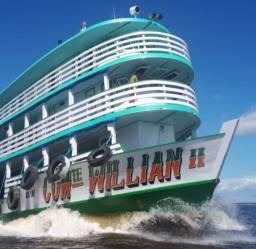 Barco de Madeira Willian