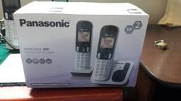 Título do anúncio: Telefone sem fio com ramal panasonic