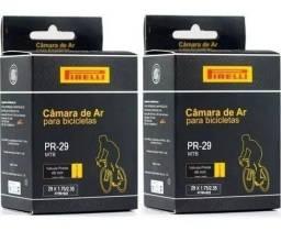 Título do anúncio: 2 Câmaras De Ar Pirelli Mtb 29er Válvula Presta 48mm