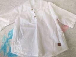 Título do anúncio: 6 camisas manga curta menino Tam 2 e 3