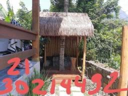 Telhados palha sape no rj 2130214492.bambu leblom